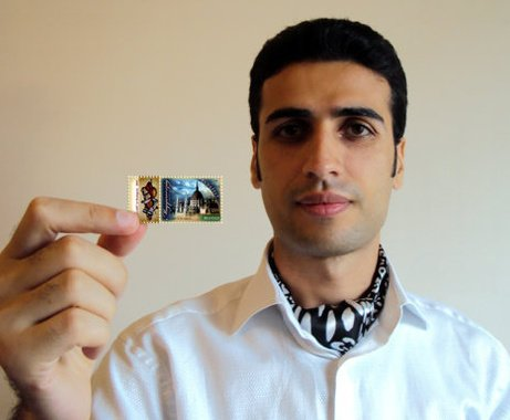 Budapest postage stamps reflect Azerbaijani artist's paintings