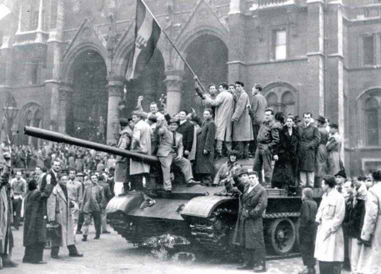 1956, October 23 – Start of the Hungarian Revolution