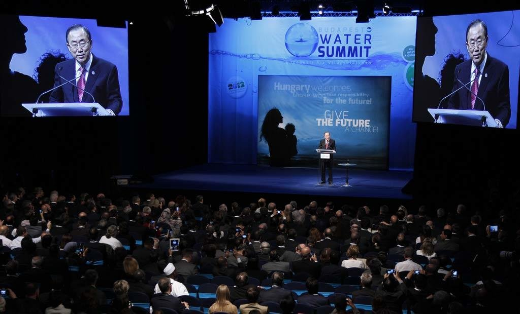 Water holds key to sustainable development, UN chief tells Budapest summit