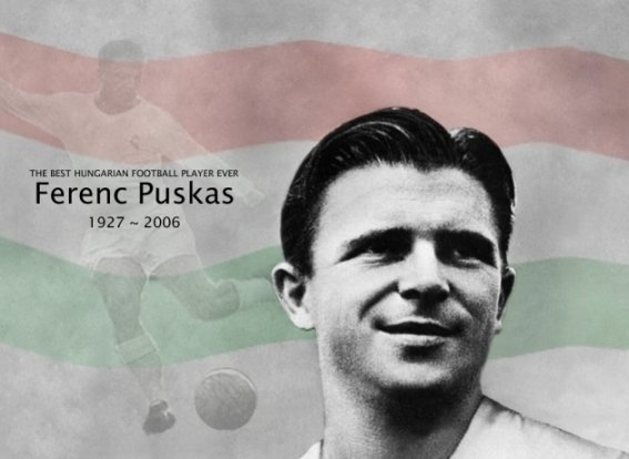 Puskás is still in the lead on the all-time world ranking list