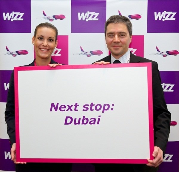 NEW Dubai International Airport takes off with Hungary's Wizz Air