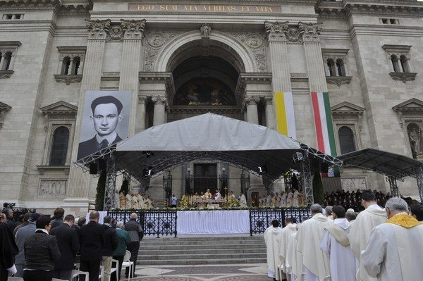 Sándor István beatified in Hungary who was executed by communist regime in 1953