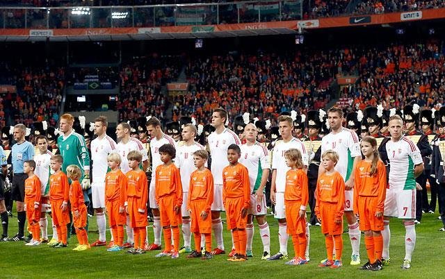 NATIONAL DISGRACE: Netherlands 8-1 Hungary