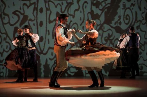 The Hungarian State Folk Ensemble on November 22 in Chicago