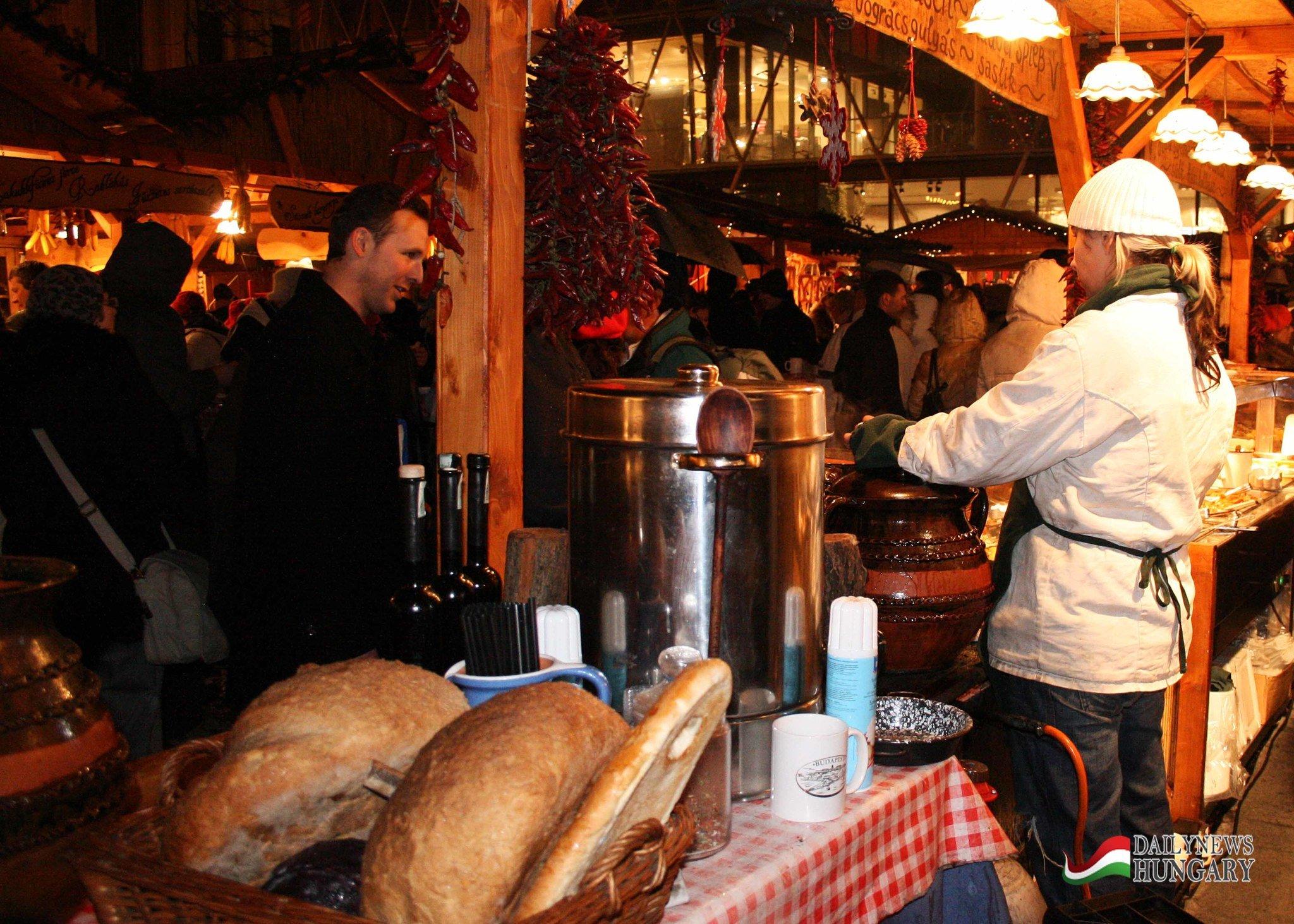 Budapest Christmas Fair (27th November – 31st December)