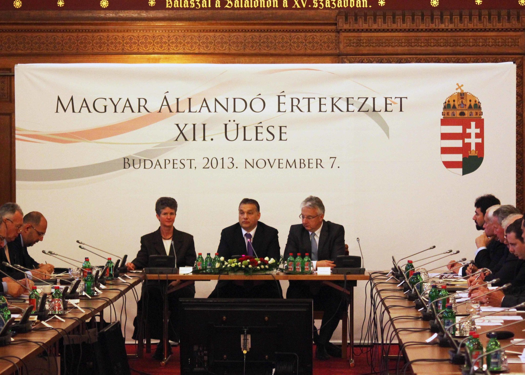 The Hungarian Diaspora Council and the Hungarian Standing Conference (MÁÉRT) was in the Hungarian Parliament