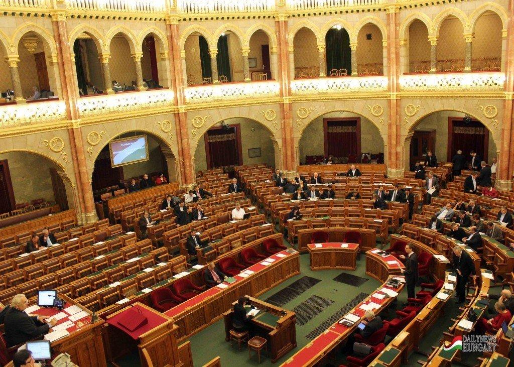 Hungarian-parliament-inside
