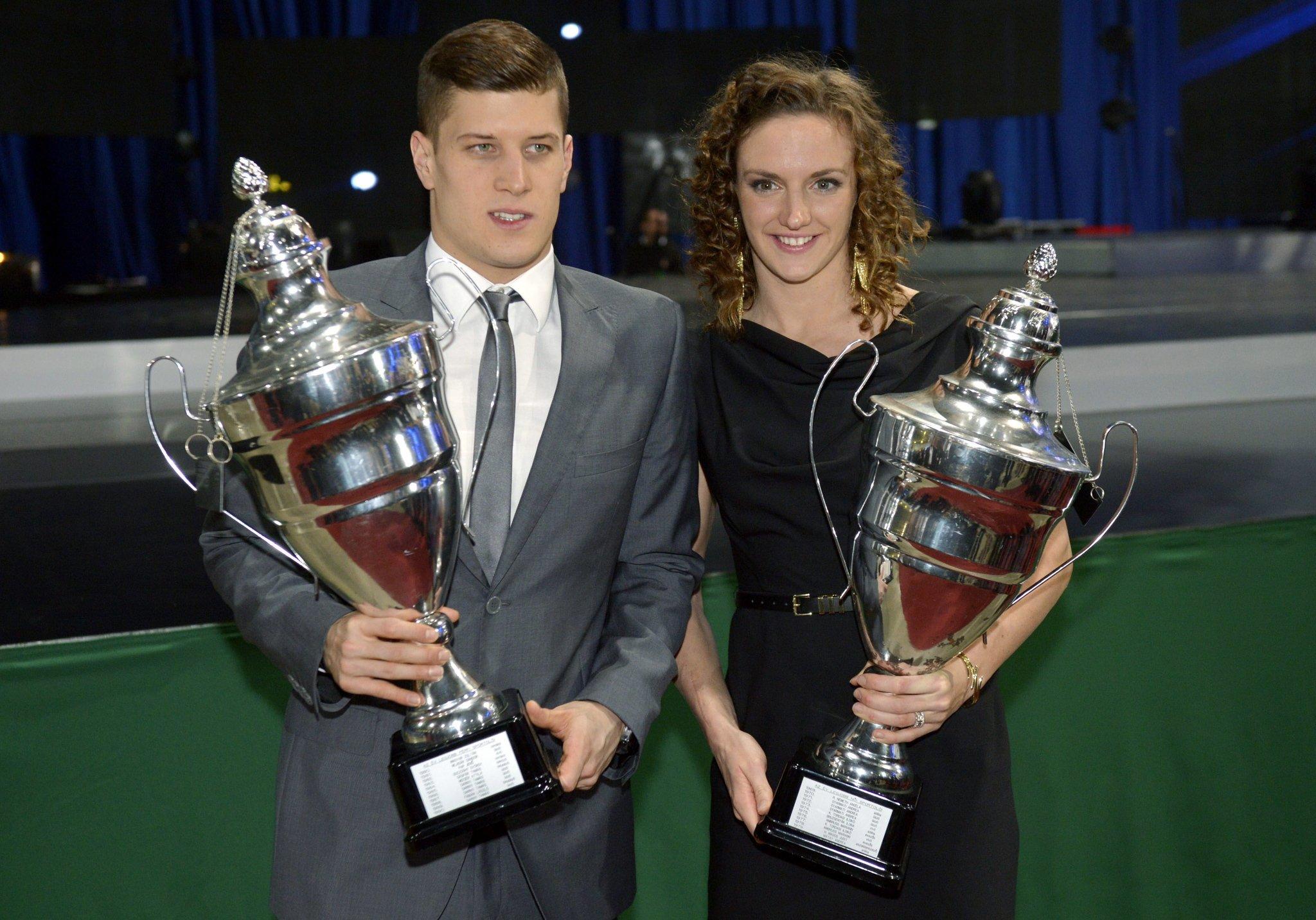 """""""Athletes of the Year"""": Hosszu and Gyurta"""