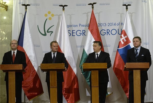 Visegrad Four prime ministers adopt statement on Ukraine