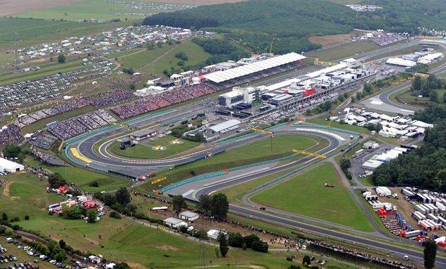 Mogyoród Hungaroring F1 Formula 1