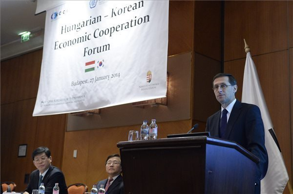 Hungary ready to boost business ties with South Korea, says Economy Minister Varga