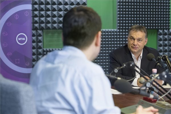 Prime Minister Orban Interview In Public Radio