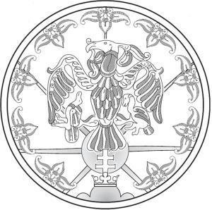 Coat of arms of Baranta Accosiation in Upper Hungary