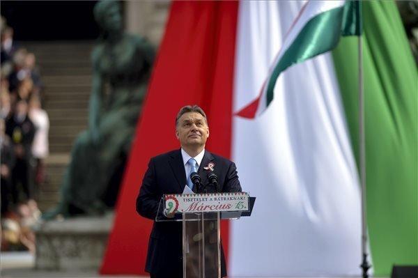 Political Speeches on March 15 – PM Orban (Fidesz)