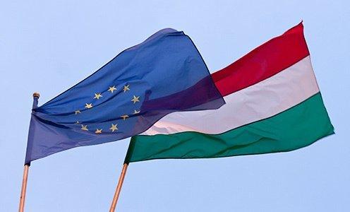hungary eu flag