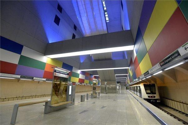 Línea de metro 4 Budapest