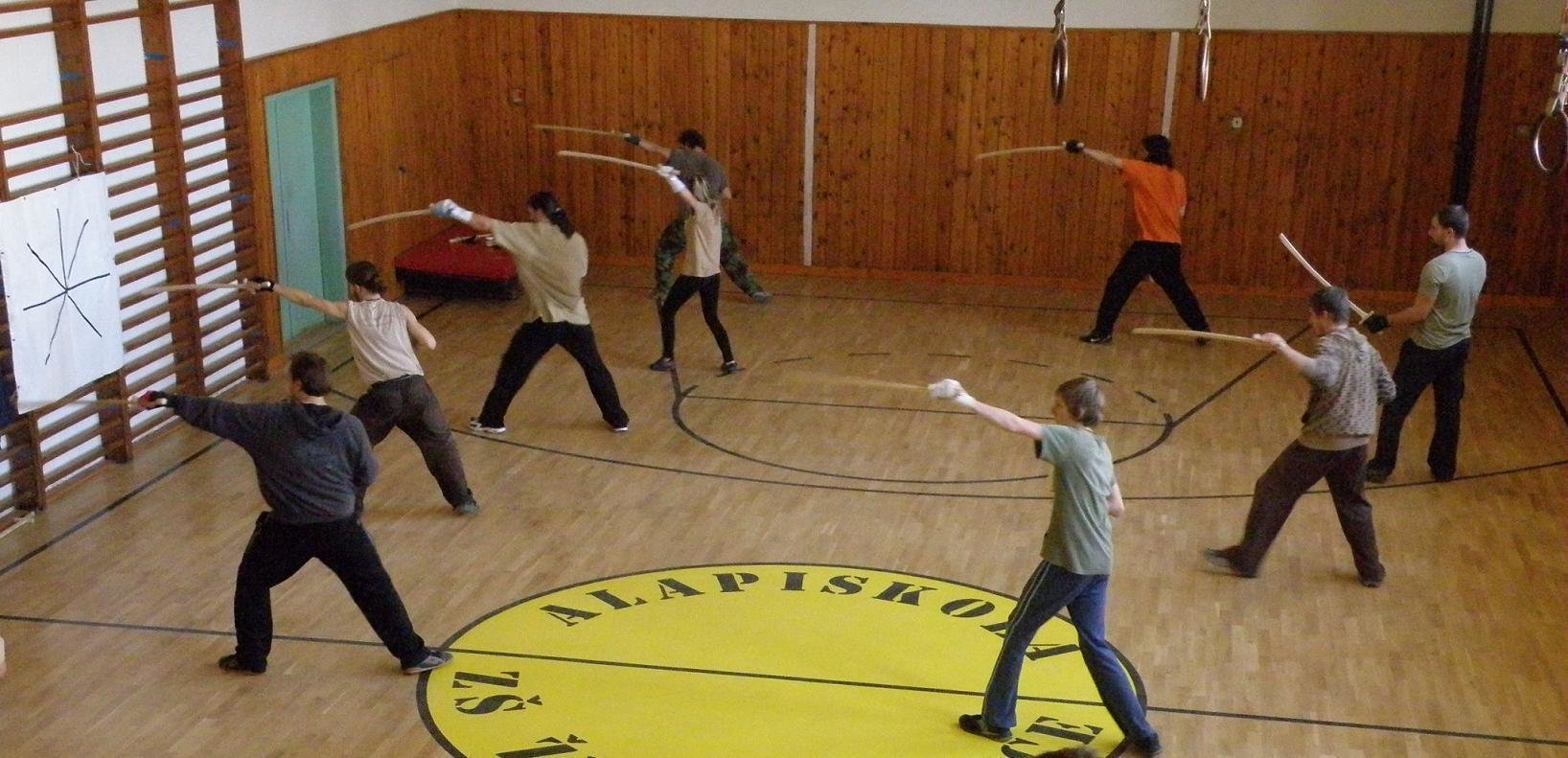 training with sabre