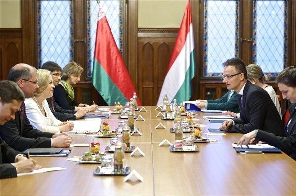 Szijjarto Meets Belarus Counterpart