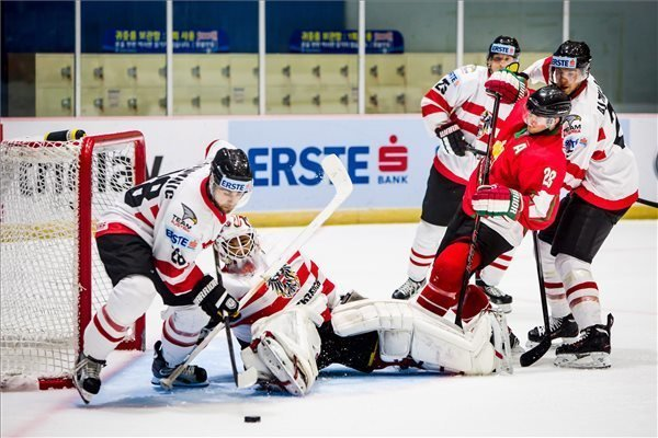 Ice Hockey: Hungary Loses To Austria In Overtime