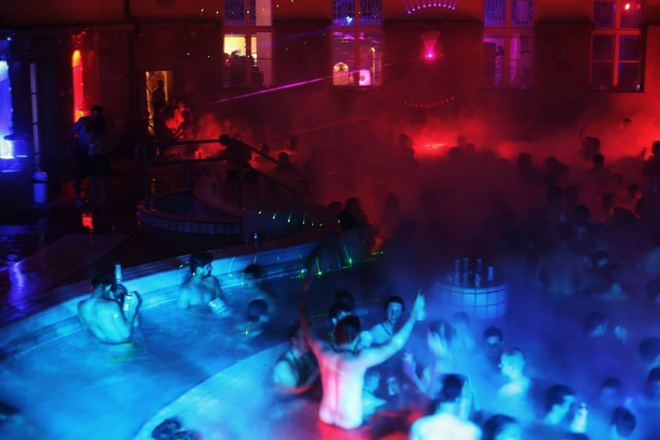 Magic Bath Parties In Budapest