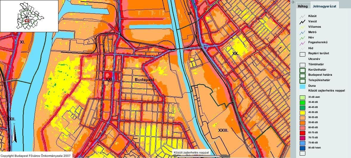 New noise map is being made in Budapest | Daily News Hungary