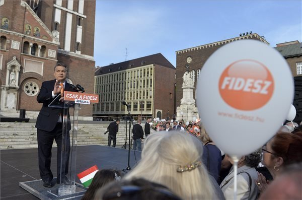 Election 2014 – Fidesz slated to win, but every vote counts, says Orban