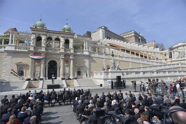 Várkert Bazár: Orban Opens Varkert Bazar Pavilions