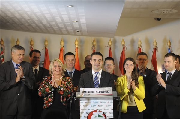 EP Elections – Jobbik Second Power, Says Vona