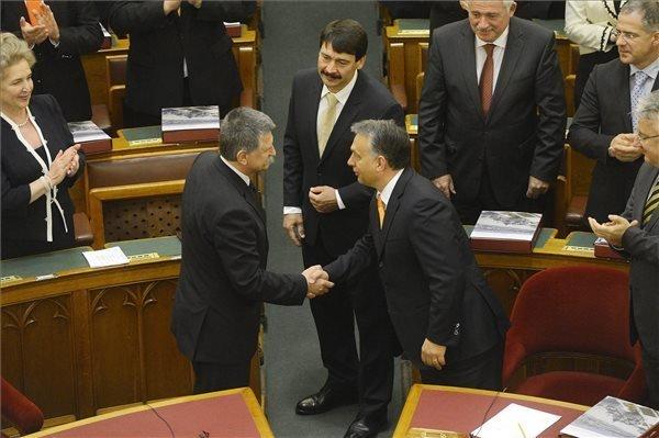 Kover Re-elected Parliamentary Speaker