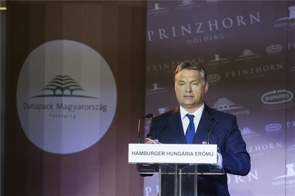 From Regional Laggard Hungary Has Become Front-Runner, Says Orban