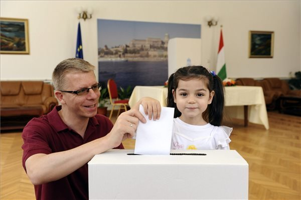EP Elections Start In Hungary