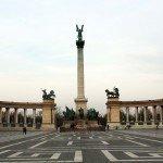 Heroes square, Budapest, Hungary kató alpár