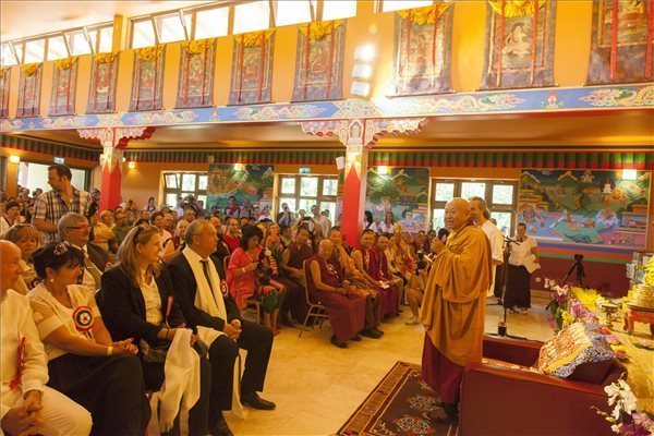 Europe's Biggest Buddhist Meditation Centre Inaugurated In Hungary