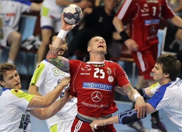 Handball: Hungary Win Againts Slovenia in First Leg Play-Off