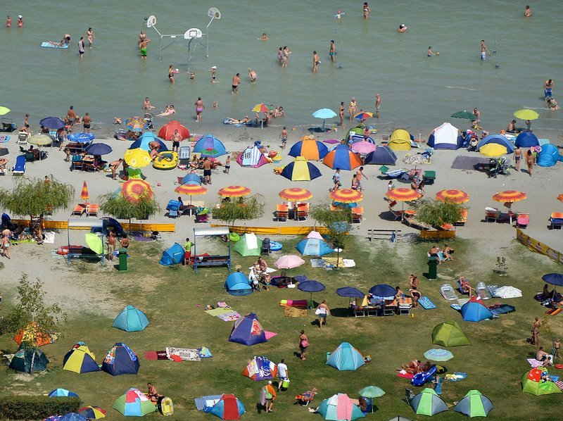 balaton, beaches