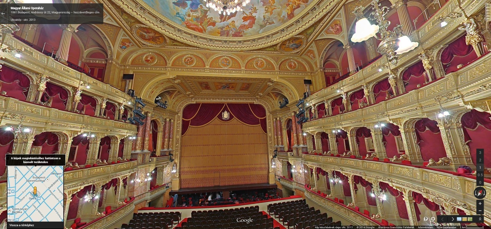 Visit The Hungarian State Opera House Virtually!