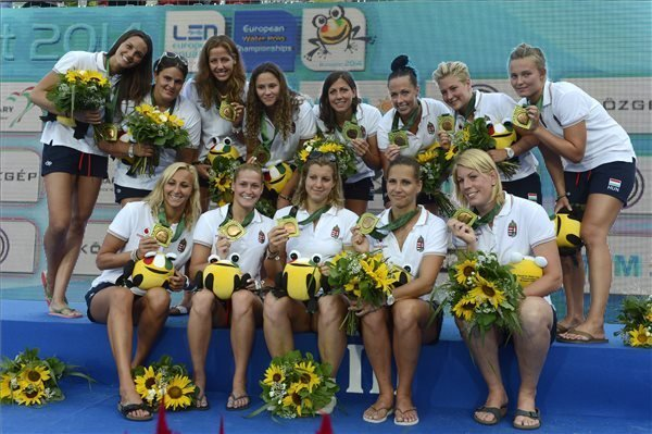 European Water Polo Championships in Budapest – Hungarian girls take the bronze