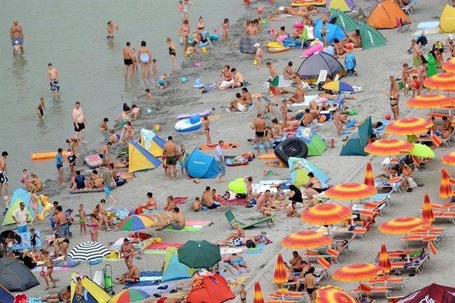 The Longest Sandy Beach of Lake Balaton