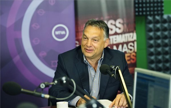 Interview – Orban: Economic growth is thanks to willingness of Hungarians to work