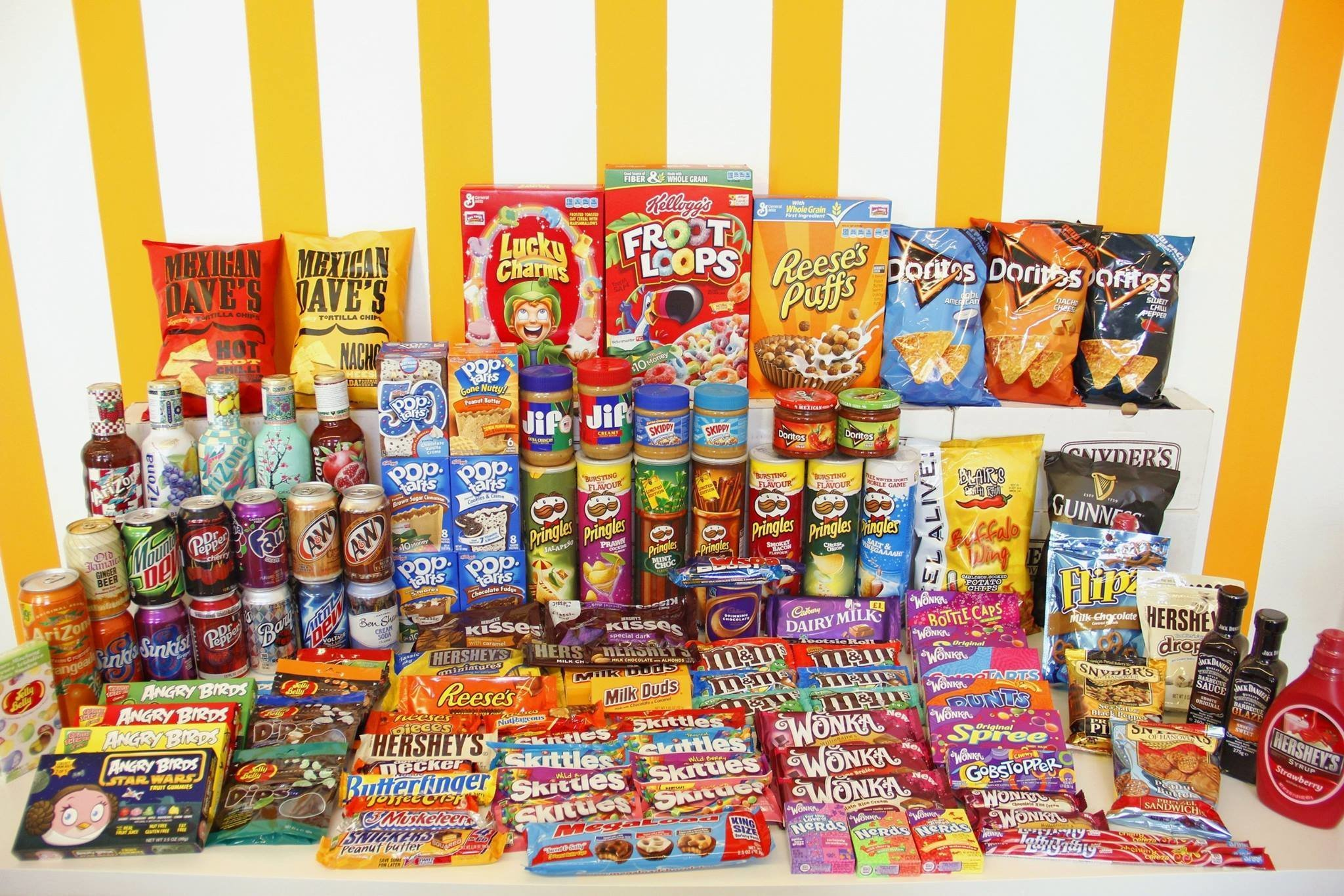 The Candy Store – Where All the Sweets Are American