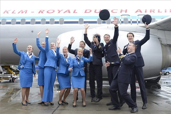 85th Anniversary of KLM Amsterdam-Budapest Flight Celebrated
