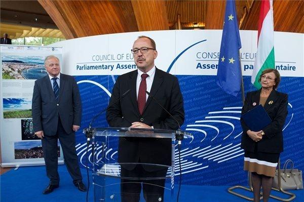 Freedoms should not permit hate speech, says Nemeth in Strasbourg