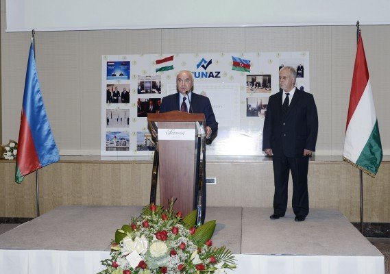 Hungarian Independence Day Marked in Baku