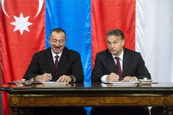 "Azeri president's visit ""clearly shows Hungary's standing"", says opposition parties"