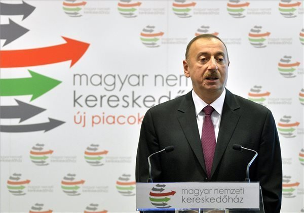 Hungarian-Azeri Business Forum with PM Orban and President Aliyev