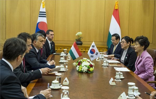 Orban encourages South Korean businesses to invest in Hungary