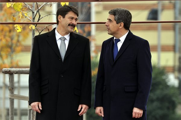 Hungarian, Bulgarian Presidents Discuss Energy Cooperation