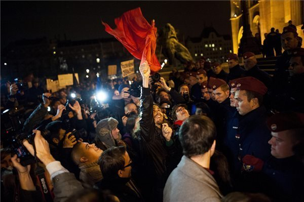 Union Protests Against 'Cafeteria' Tax,  Thousands Protest Against Corruption