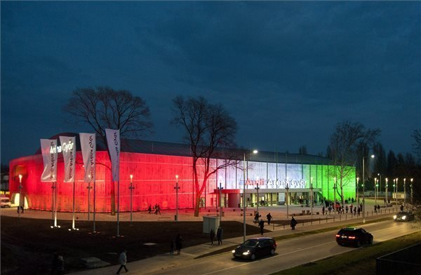 Opening Ceremony of Multifunctional Sports Arena in Gyor