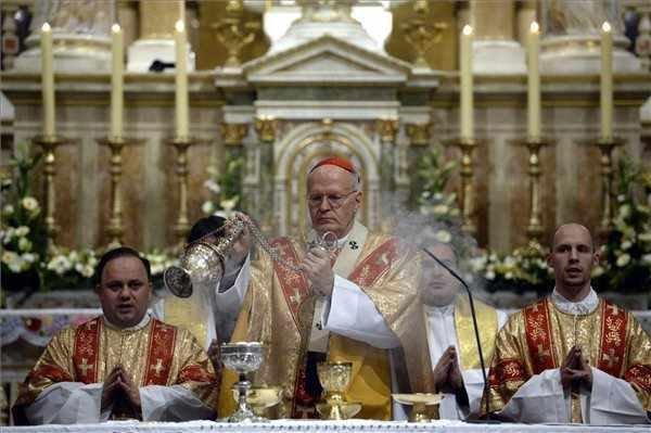 Hungarian church leaders celebrate Christmas
